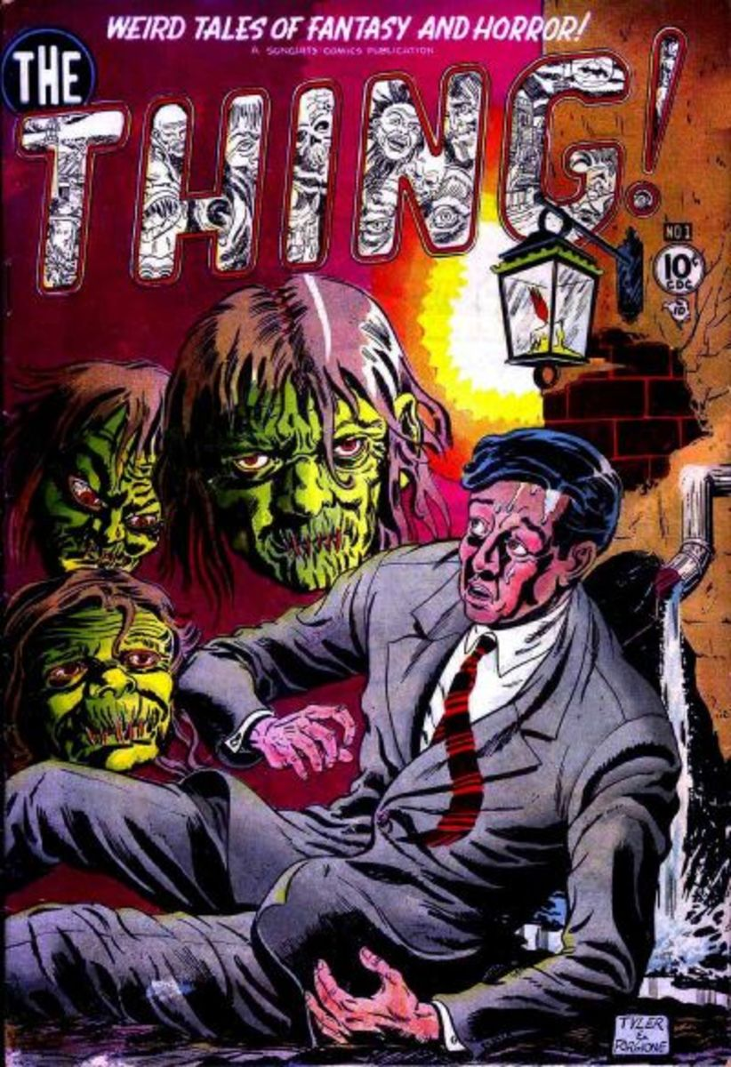 The Thing #1. Early 50s horror.