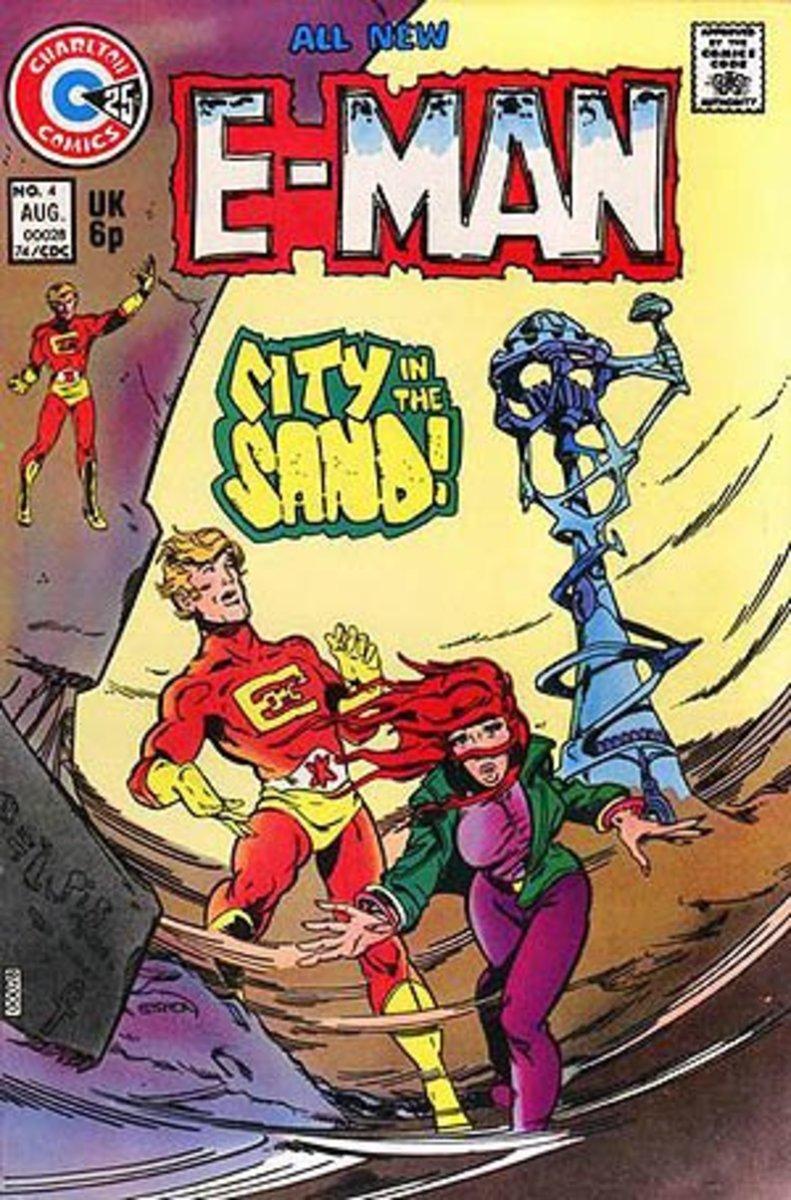 E-Man #4, Joe Staton (mid-1970s)
