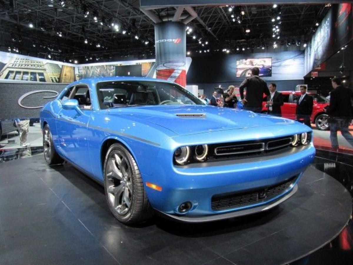 2015 Dodge Challenger Blue
