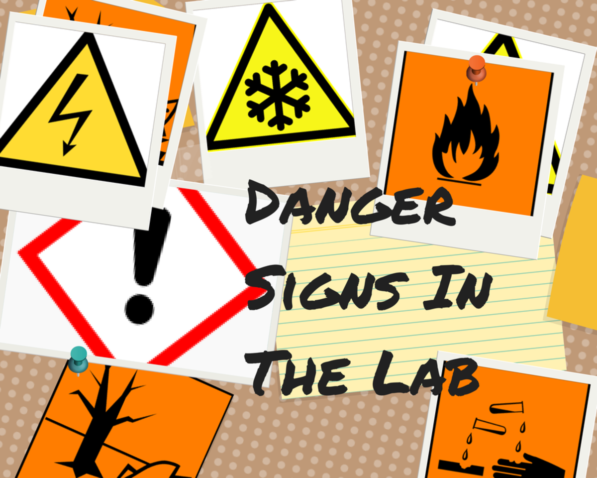 Danger Signs In The Laboratory, Workplace and Hospital