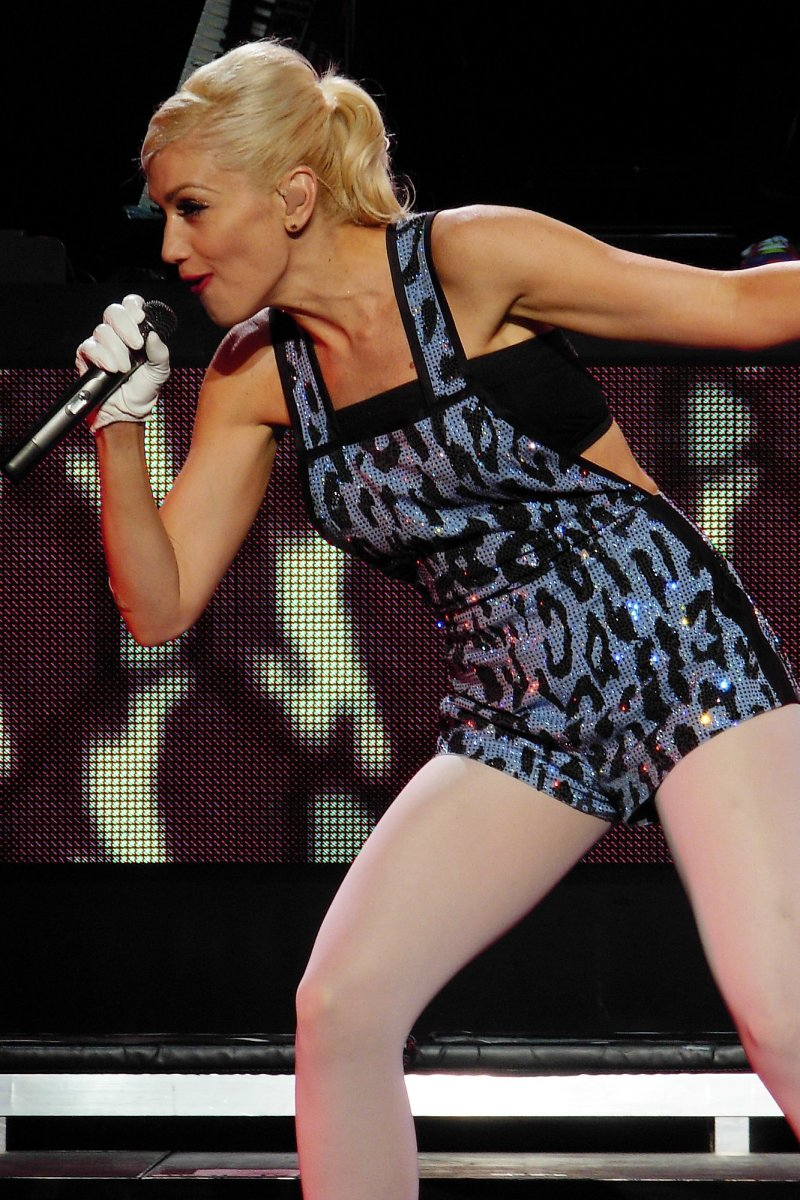 Gwen Stefani performing at the Jones Beach Theatre in Wantagh, New York, United States 20 May 2007