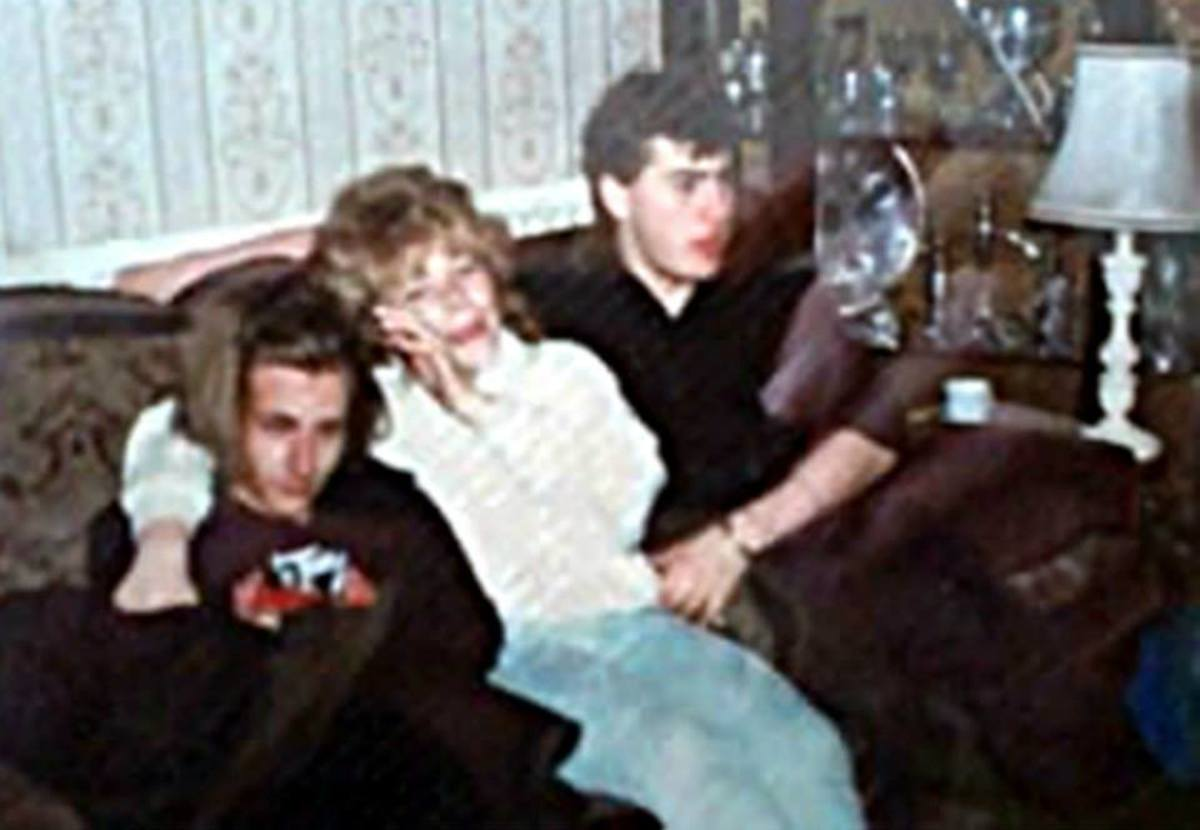 From left: Alex, Jane and Mick relaxing at my house after a Rats in Paradise gig