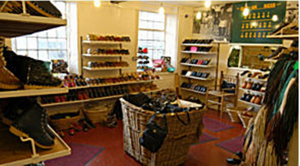 Walkley Clogs' shop at Hebden Bridge, Yorkshire