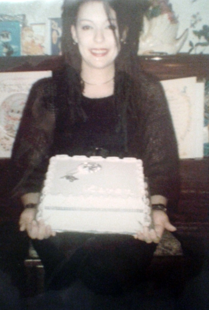 Me with my birthday cake