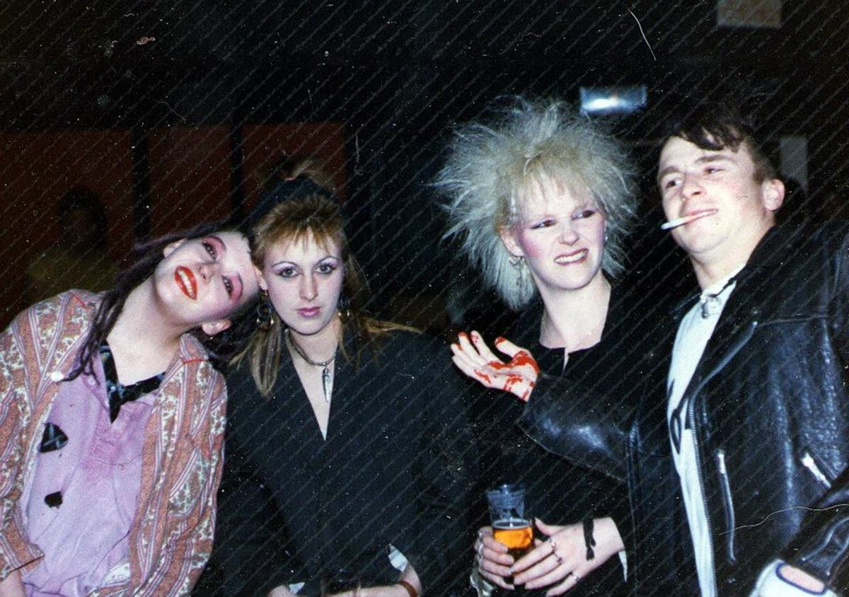 From left: Anna, Debbie, Lisa and Shane