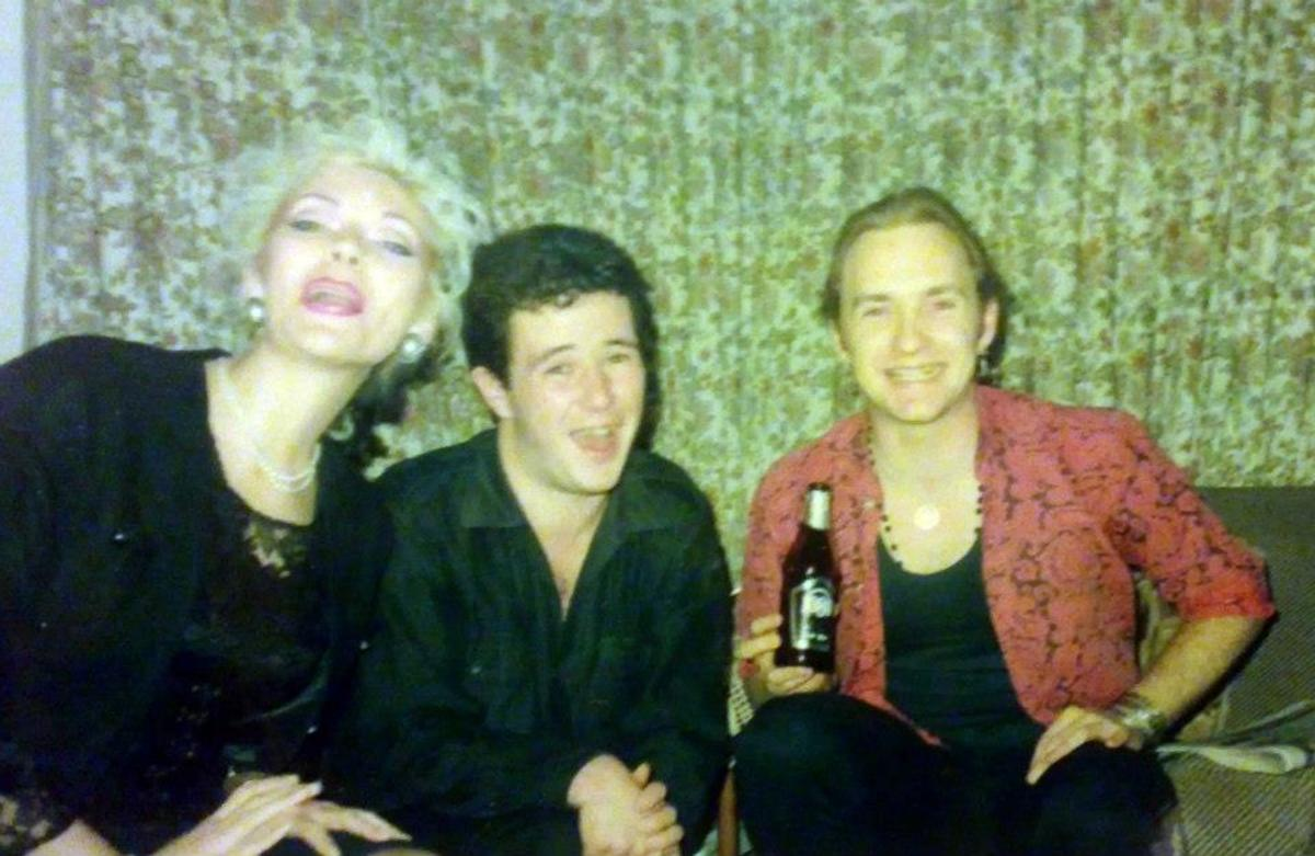 From left: Me, Con and Roger (1988)