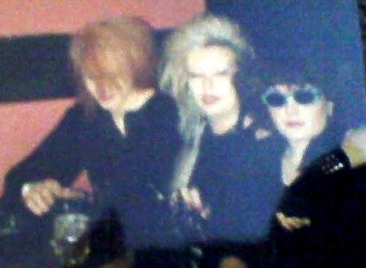 Me in the centre, with Dowie and Sara (this was on a night out to Manchester, I think)