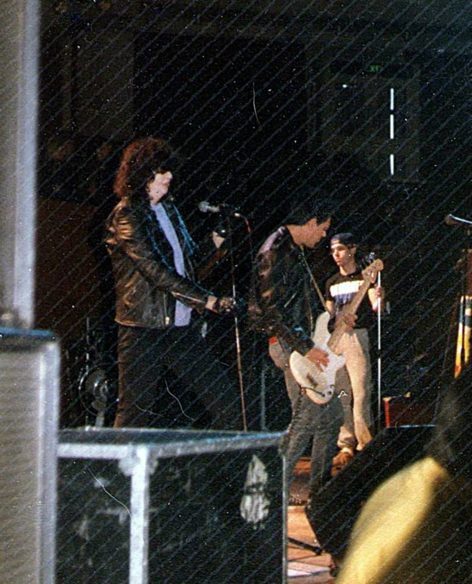 The Ramones, Preston Guild Hall, 1986