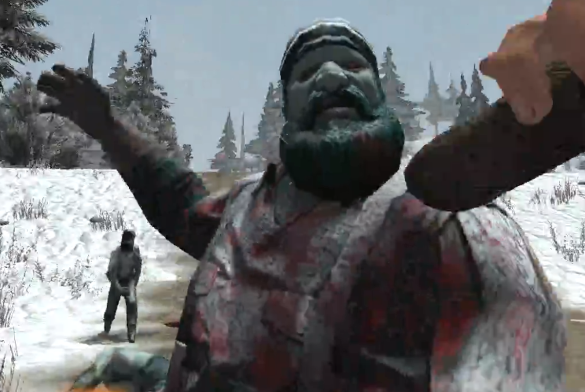 The Frozen Lumberjack takes more hits than most zombies.