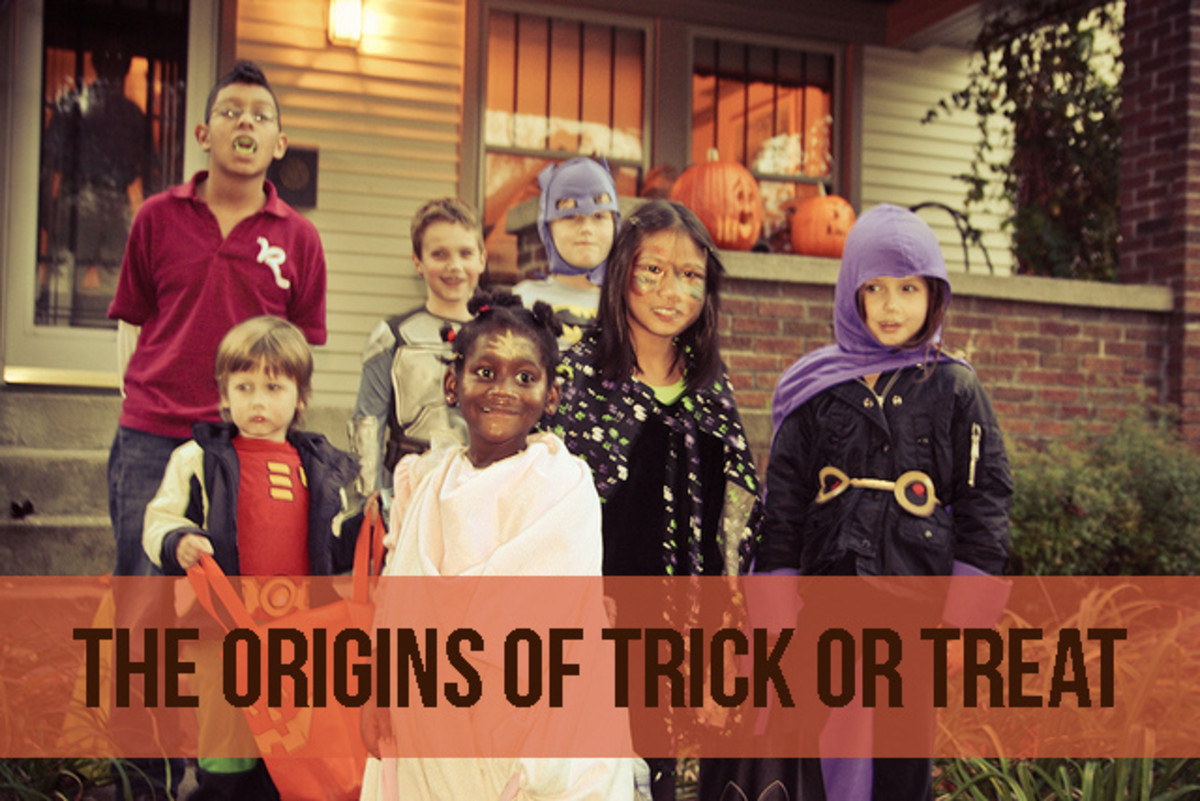 Halloween is primarily an American holiday, but the tradition of trick or treating may go back to the Gaelic people.