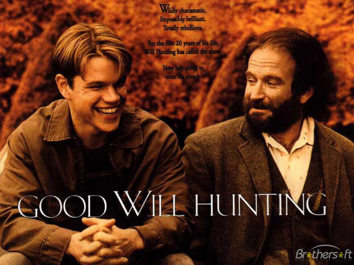 Good Will Hunting (1997) cover design