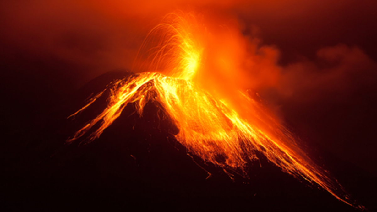 Earthquakes and volcanic eruptions are becoming more frequent and intense..