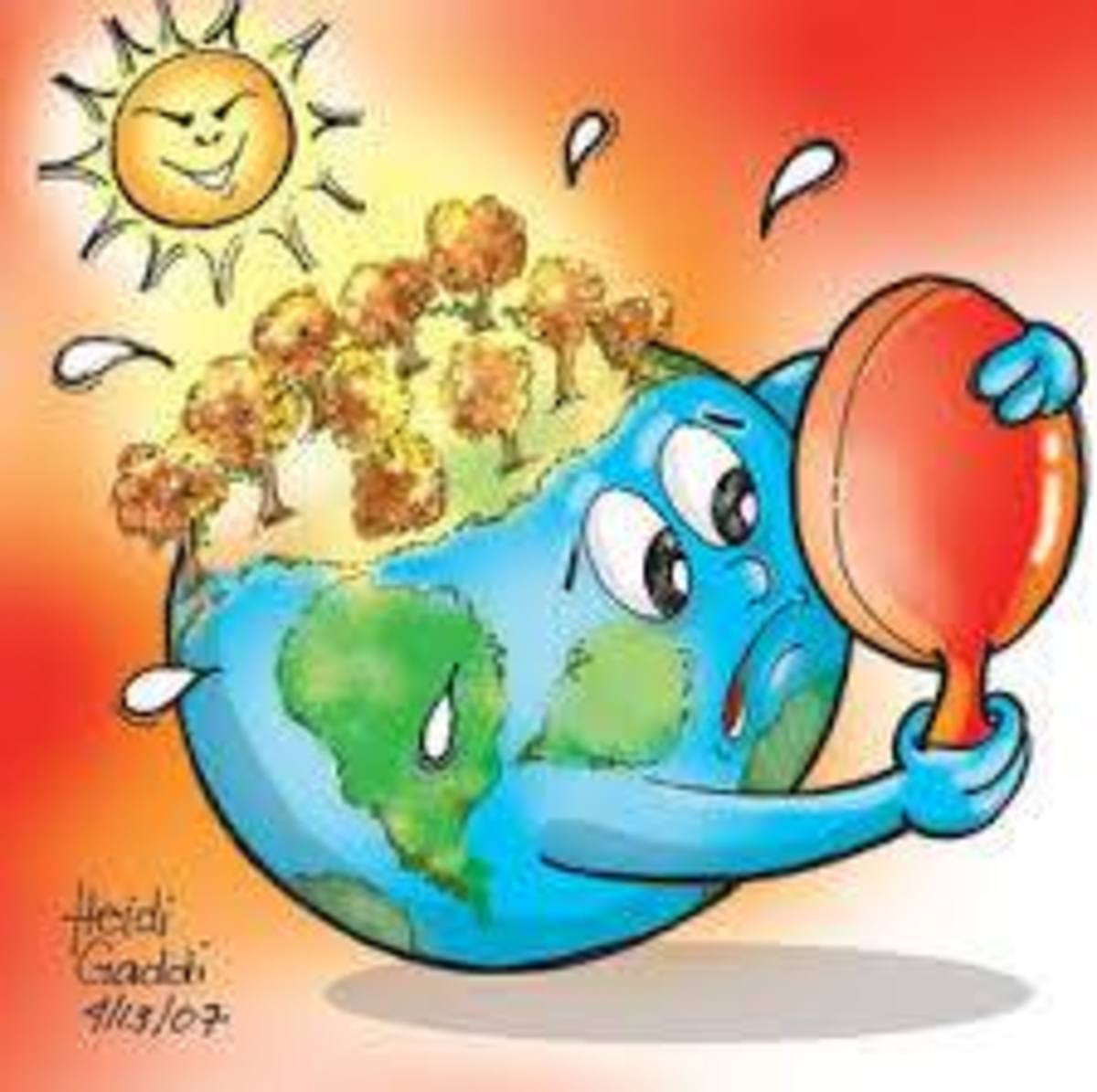 Global warming is increasing and we see more severe floods, storms and droughts with accompanied loss of life. Climate change alters the composition of the global atmosphere and which is in addition to natural climate variability over comparable peri