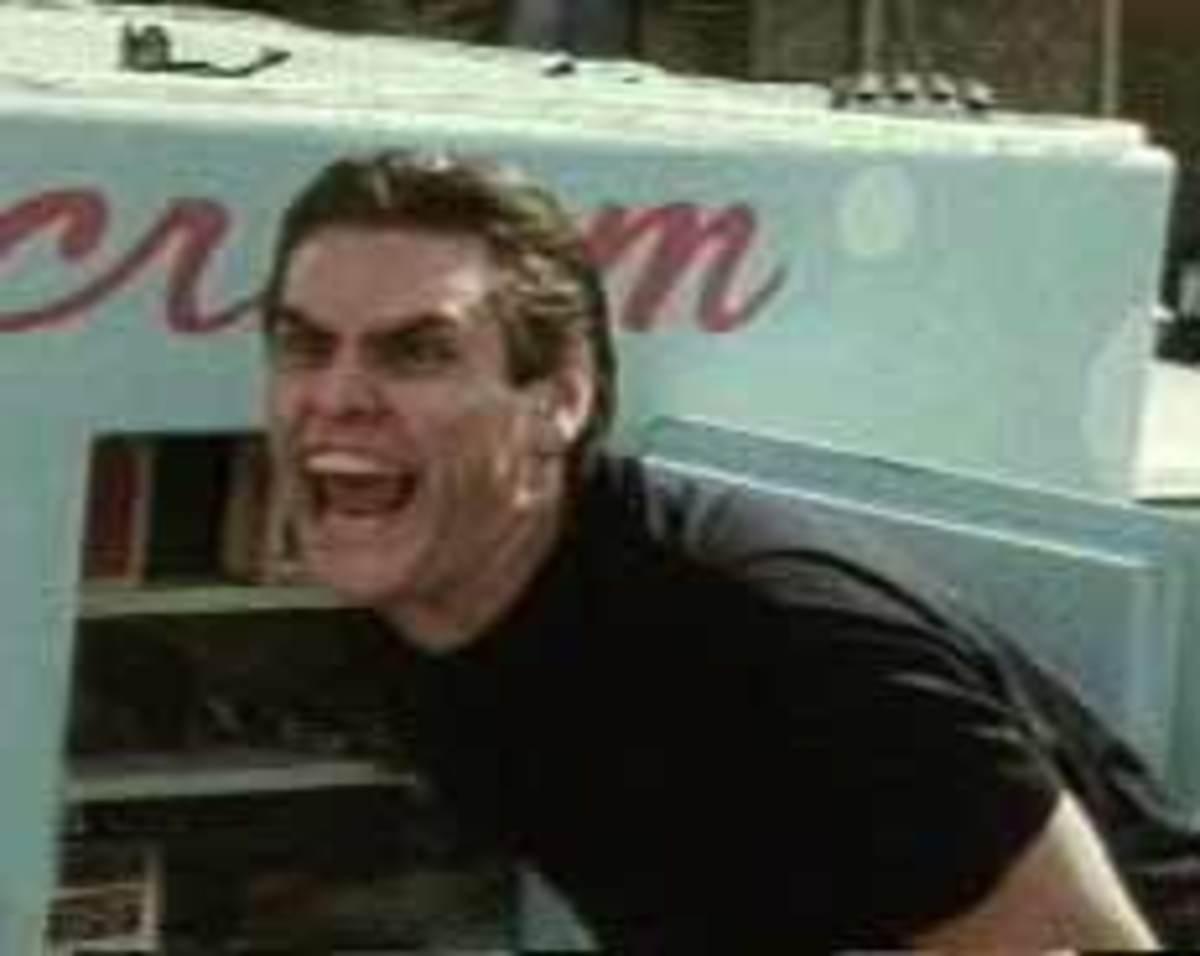 If Jim Carey serves you ice cream, run