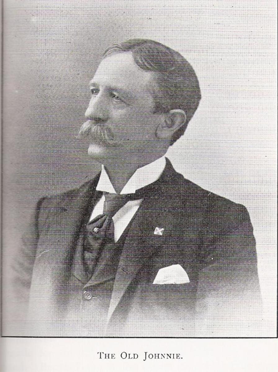 James Dinkins in 1897 when he published his memoirs. (both photos of the Captain are from the book, now in public domain)
