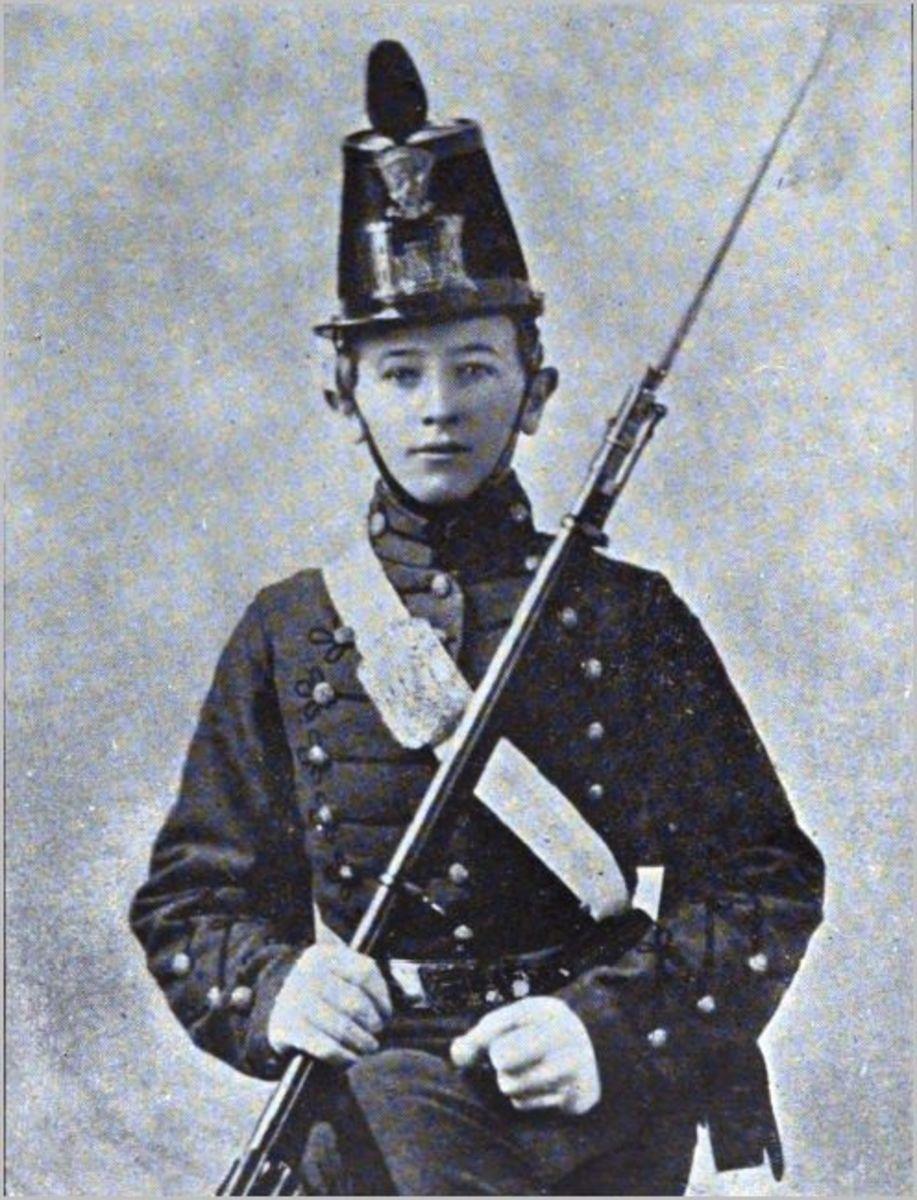 James Dinkins the soldier boy