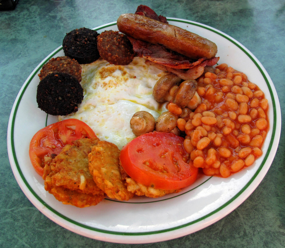 A typical Old Country Breakfast plate.