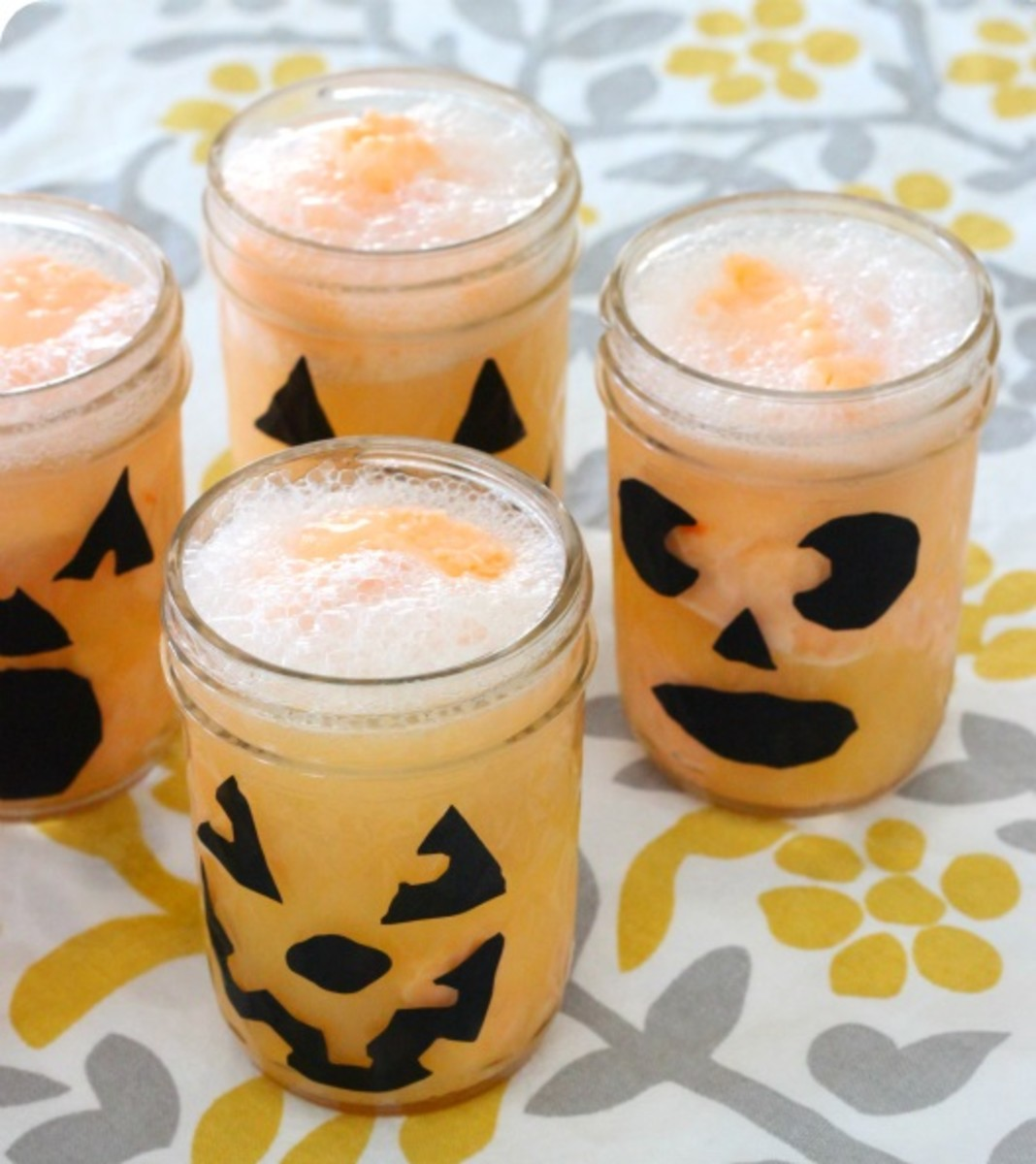 Fizzy Pumpkin Drink