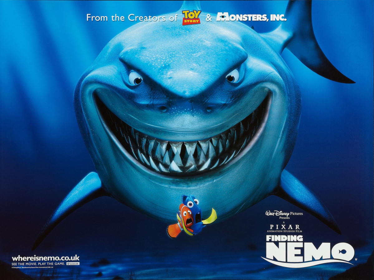 Finding Nemo Disney 2003 British Quad 30 X 40