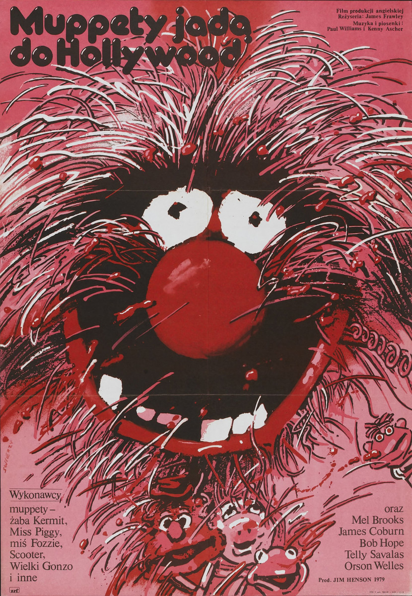 The Muppet Movie Associated Film Distributors 1979 Polish One Sheet 265 X 385 Frank Oz Jim Henson