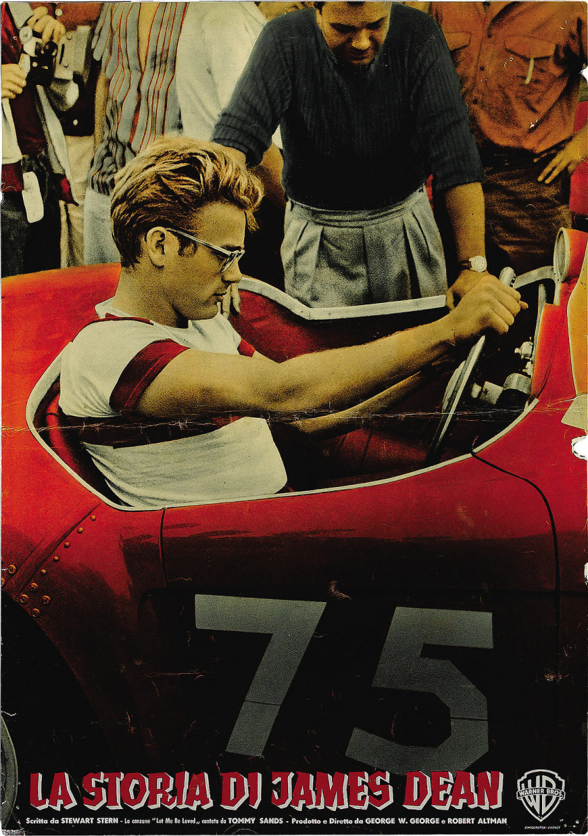 The James Dean Story Italian Photobusta 185 X 2675  1967