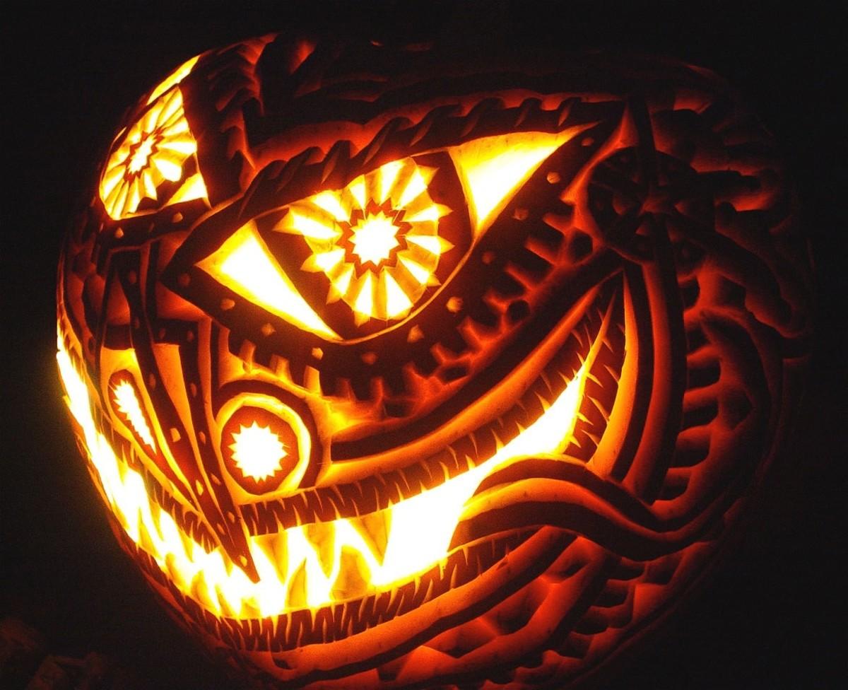 DIY Pumpkin Decorating Ideas Detailed Carving