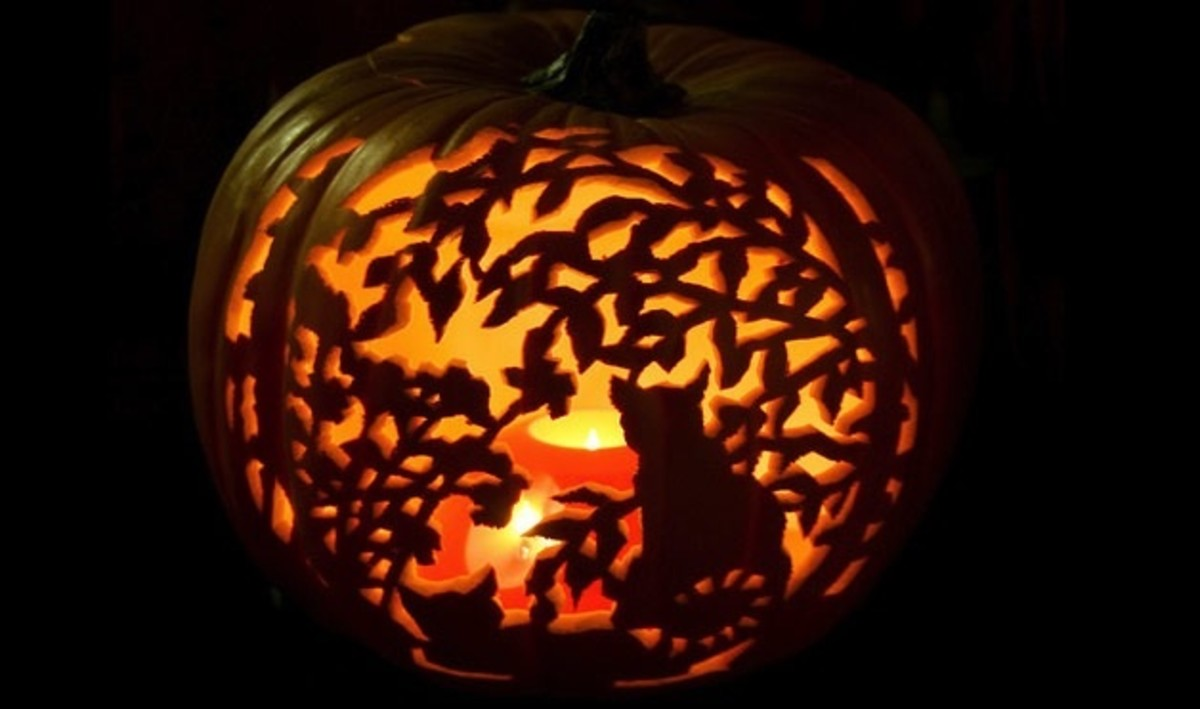 DIY Pumpkin Decoration Ideas Detailed Carving