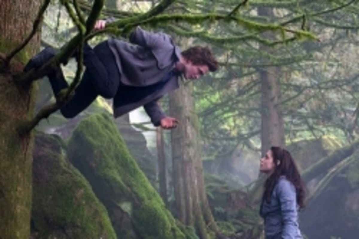 Edward and Bella Tree Hanging
