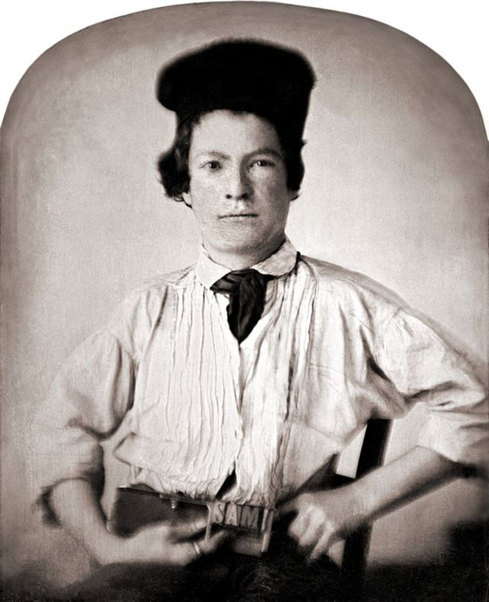 Samuel Clemens by photographer GH Jones, 1850
