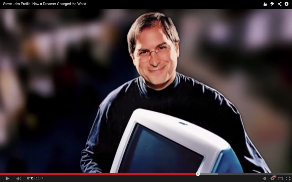 Steve Jobs when he came back to Apple and created the IMac.
