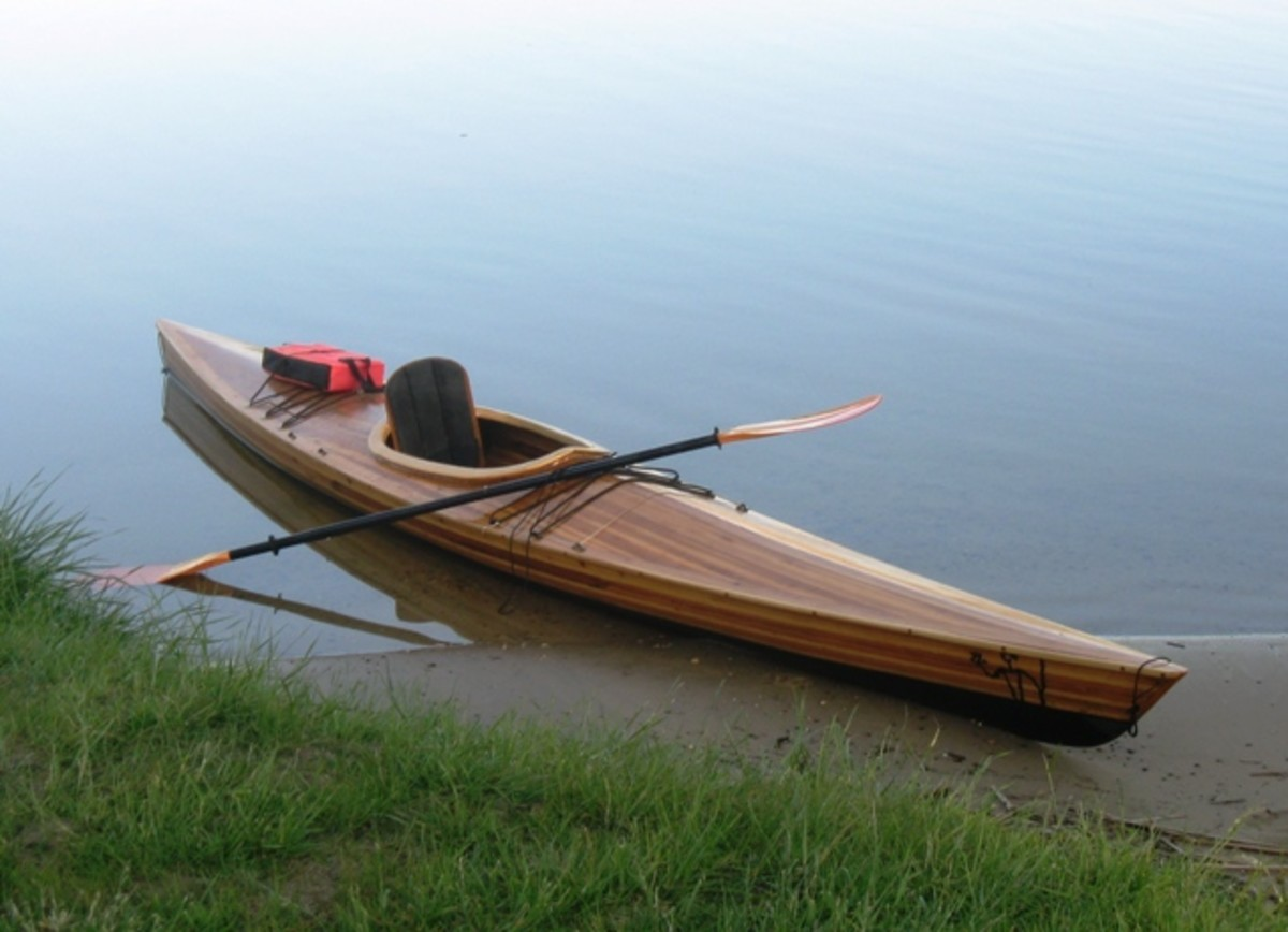 Building a Cedar Strip Kayak: The Details: Cockpit and Hatches