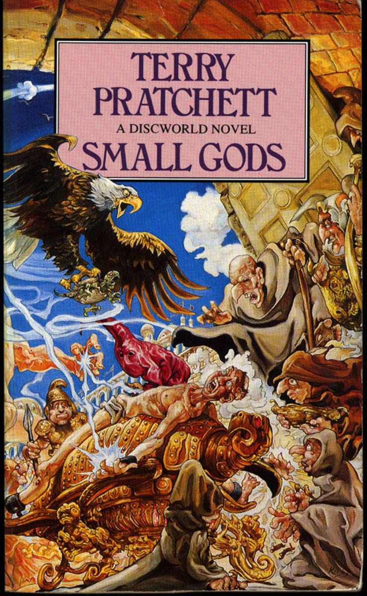 Small Gods cover.