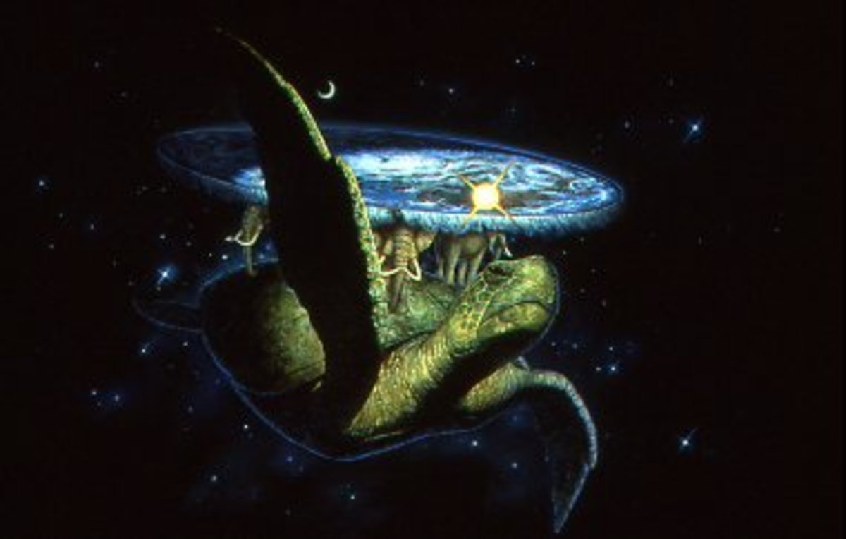 Illustration of Great A'Tuin by Paul Kidby.