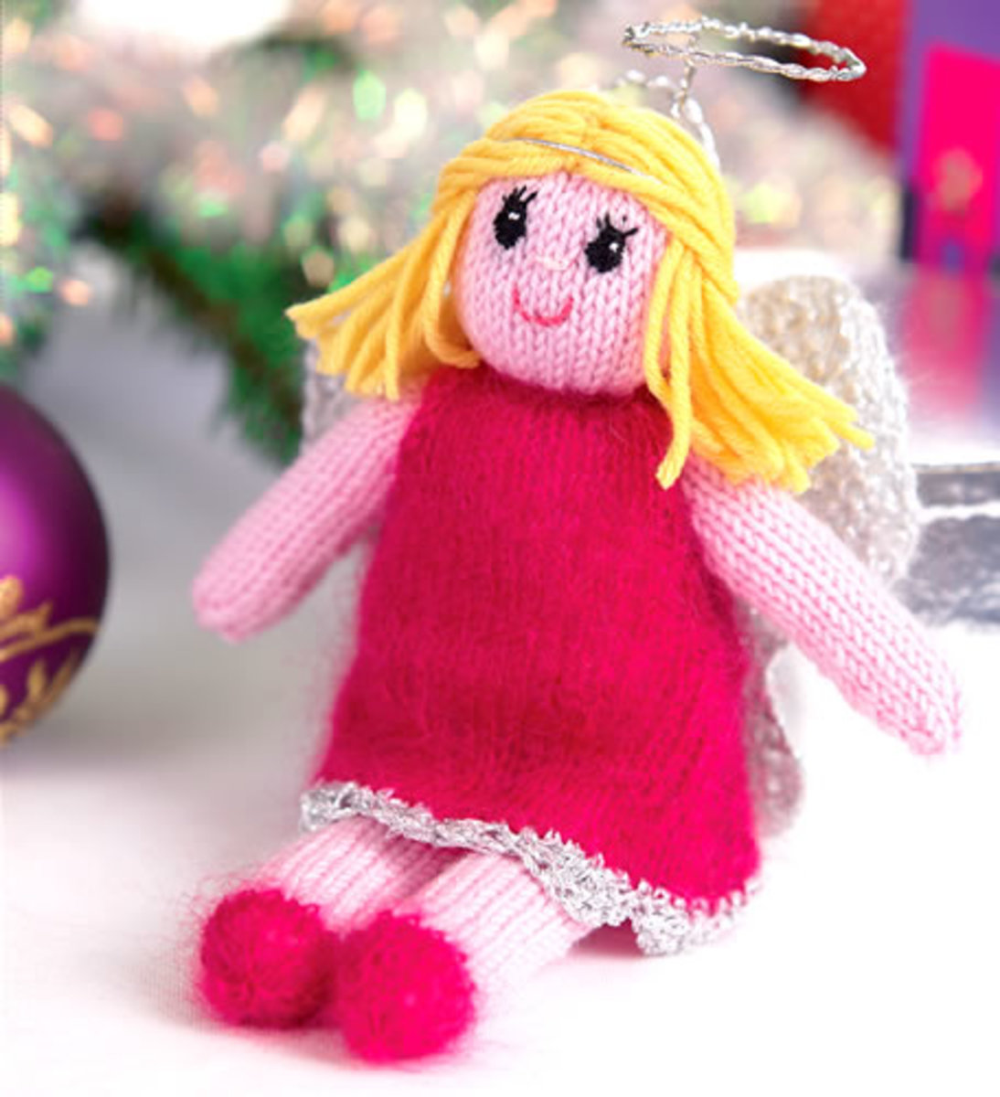 Free Knitting Pattern For Angel Top : Free Patterns For Knitting Dolls And Their Clothes