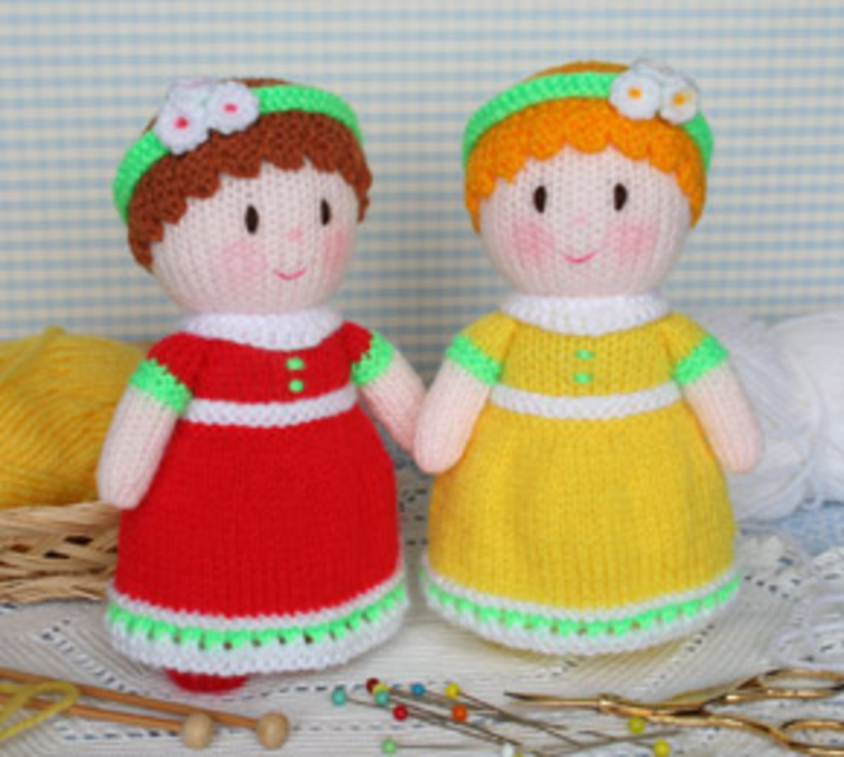 Free Patterns For Knitting Dolls And Their Clothes