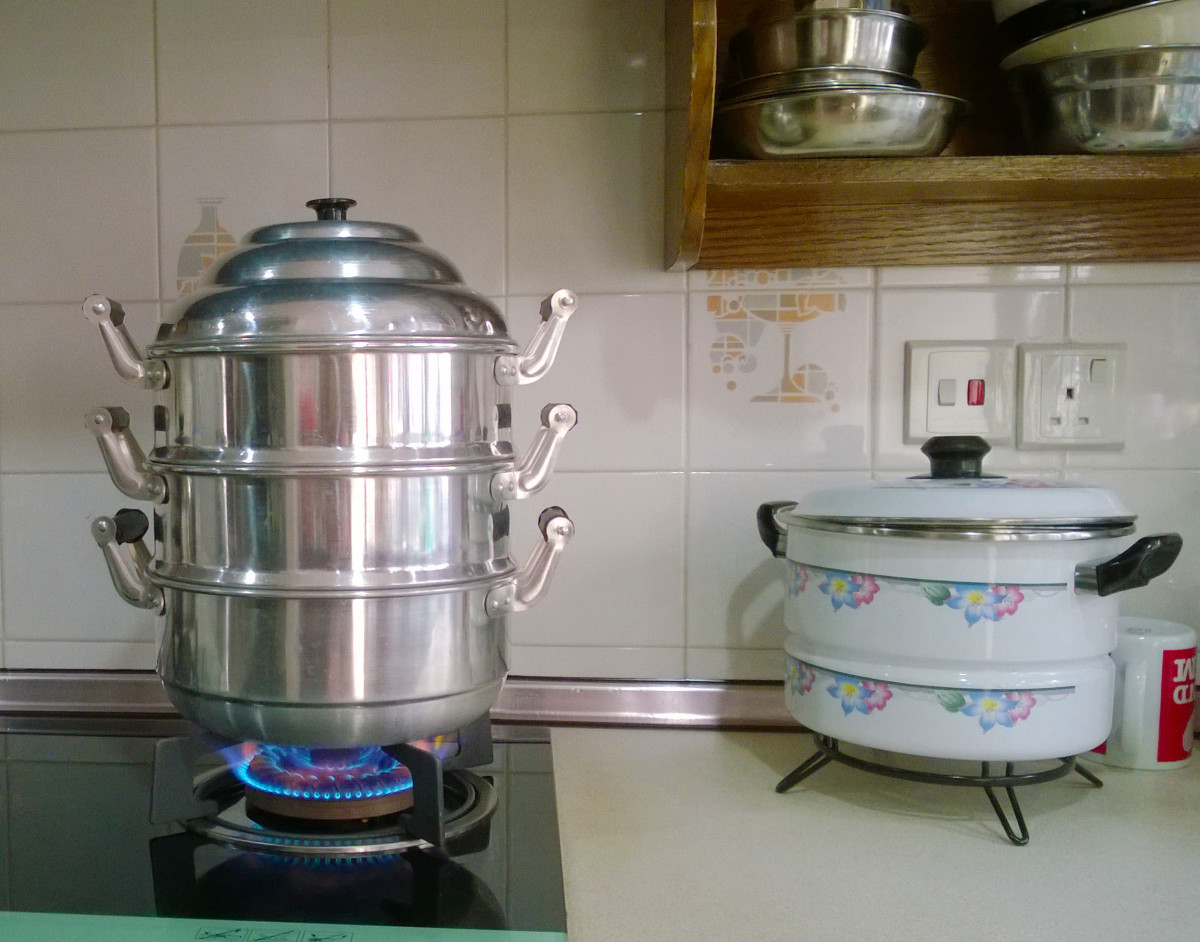 Stacking In Steam Cooking Cooks A Complete Meal Fast And Easy