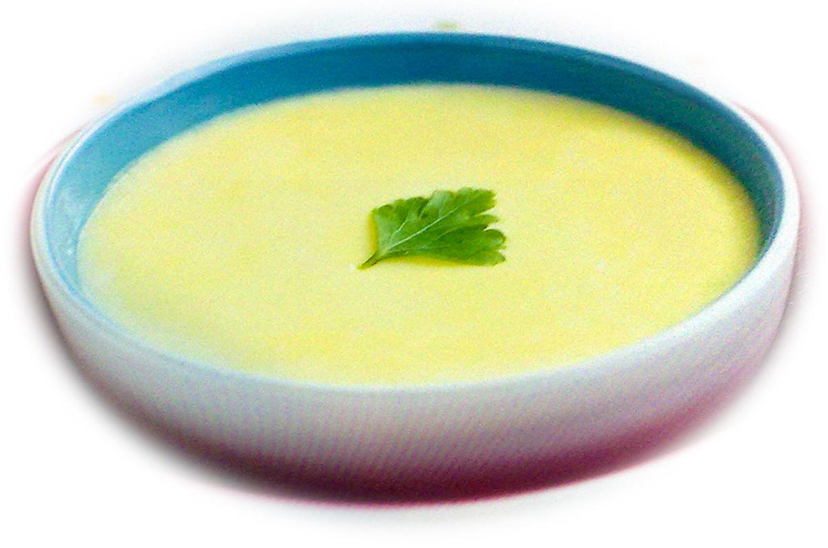 Egg and milk custard for dessert