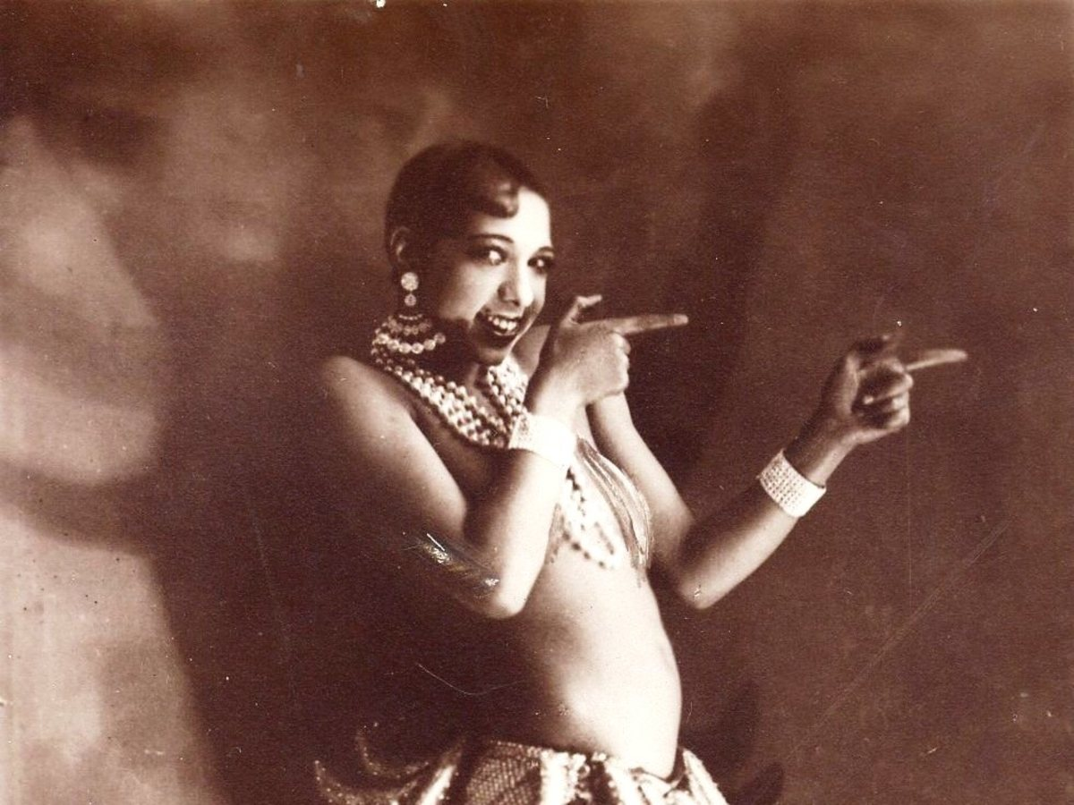 Josephine Baker born (Freda Josephine McDonald) June 3 1906 died April 12, 1975