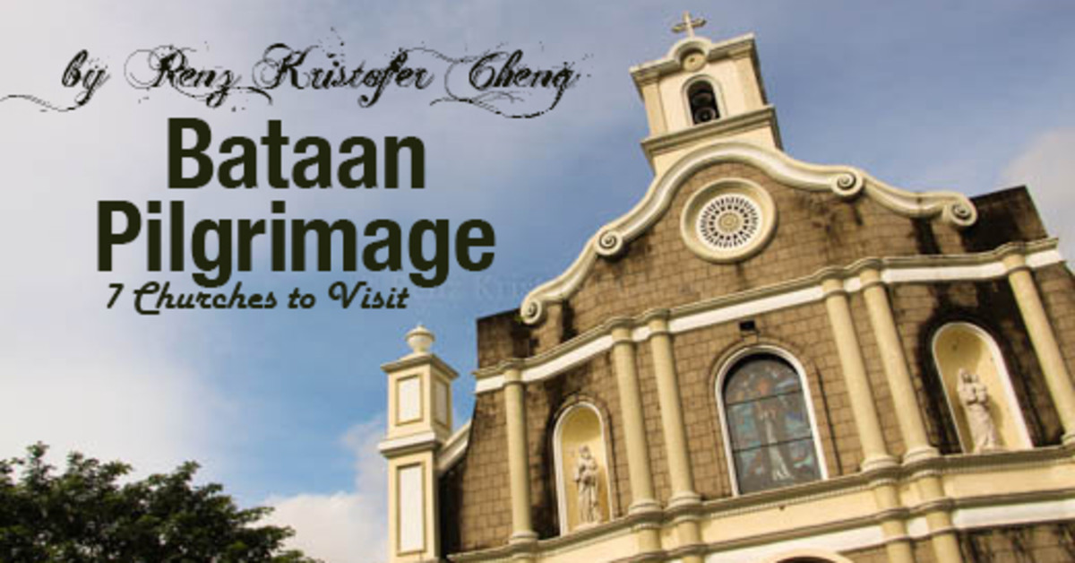7 Churches to Visit in Bataan for Holy Week's Visita Iglesia