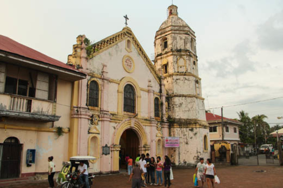 St. Catherine of Sienna Church in Samal, Bataan