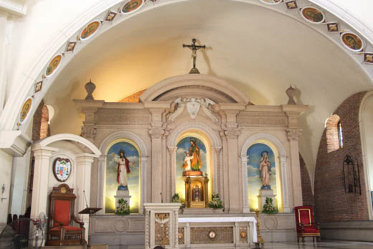 The wonderful interior of St. Joseph Church in Balanga, Bataan