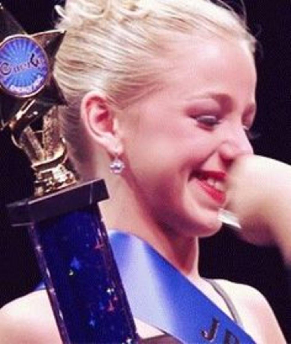 Chloe Beats Maddie At Nationals