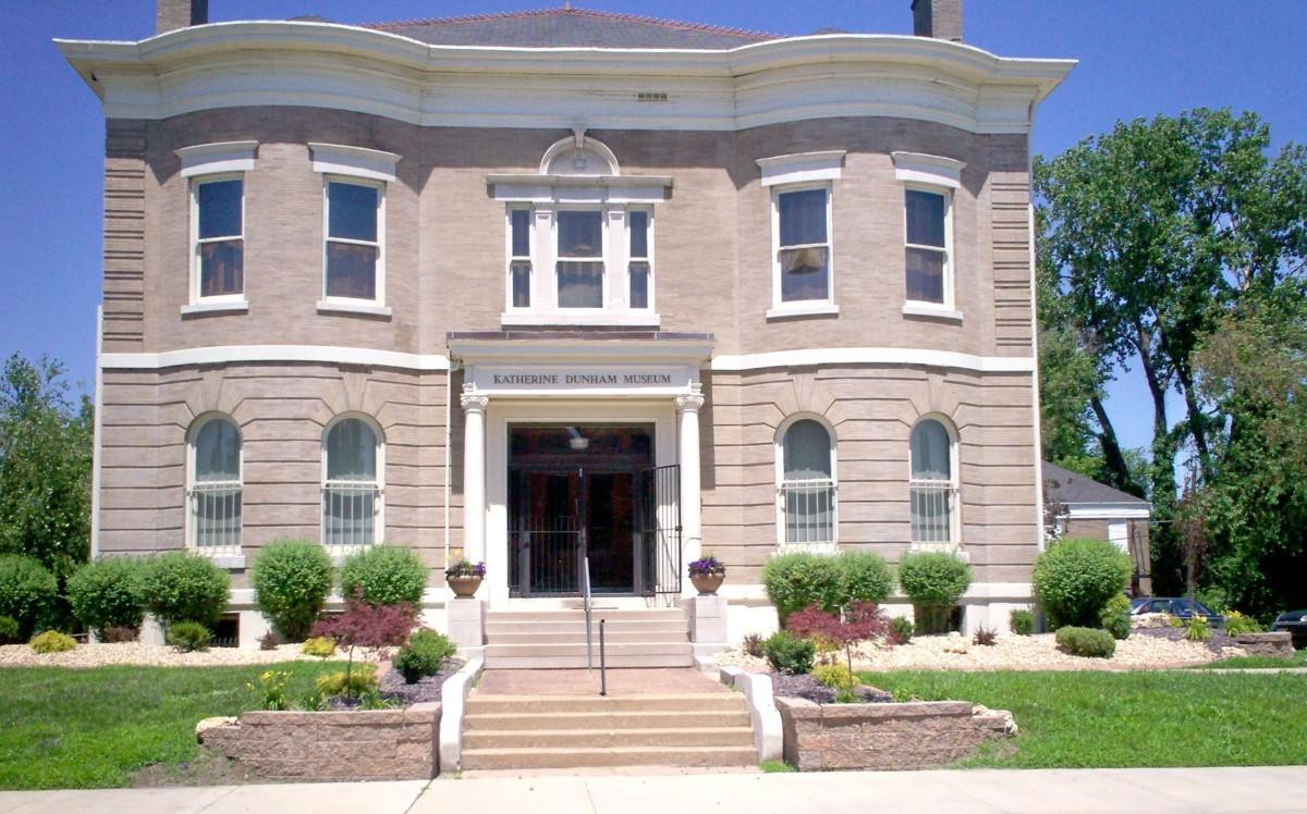 This landmark is housed in Dunham's beloved hometown of East St. Louis, MO.