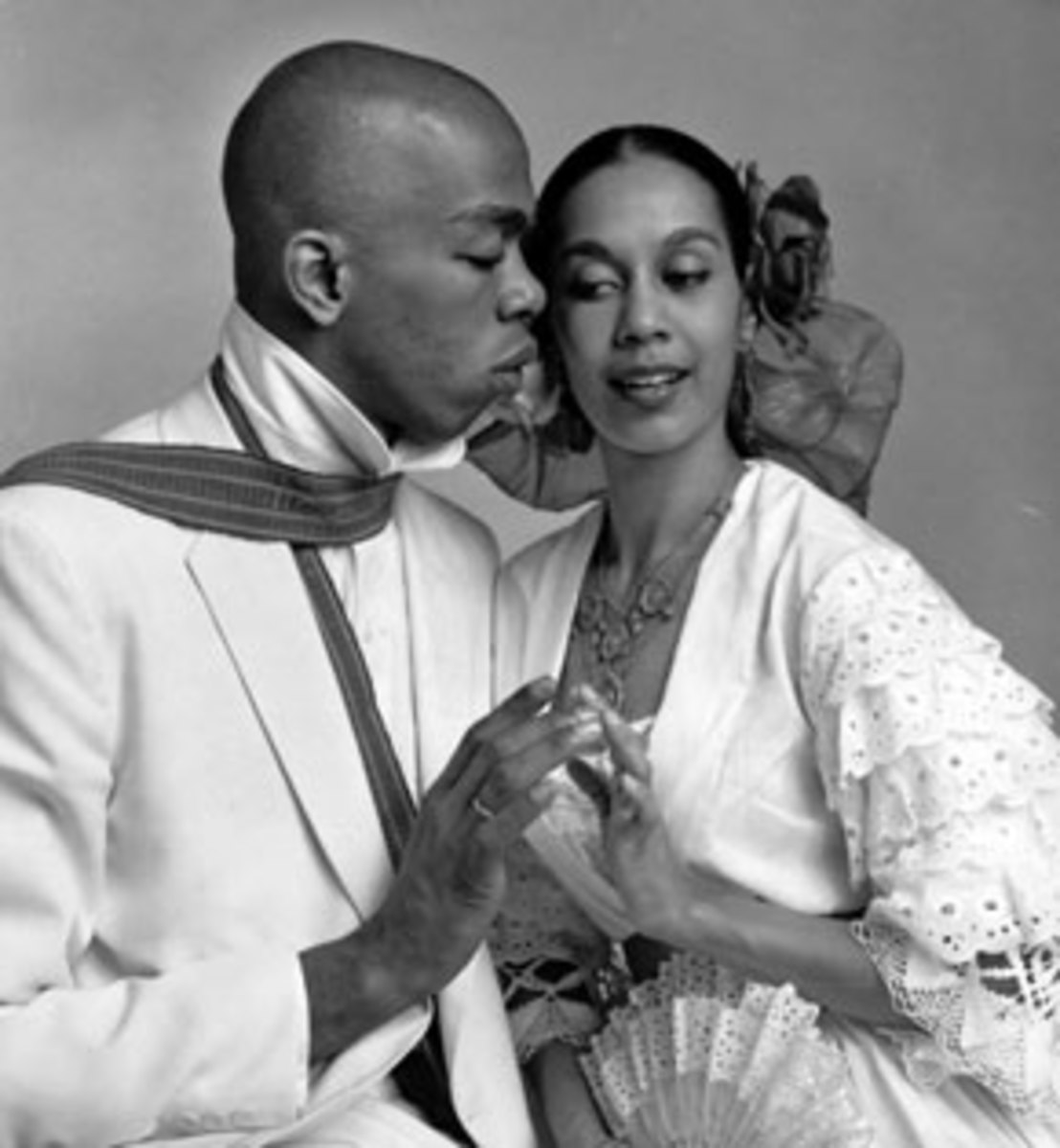 """It was in the 1954 Broadway musical """"House of Flowers"""", where Holder met fellow dancer Carmen DeLavallade, and the two were married in 1955."""