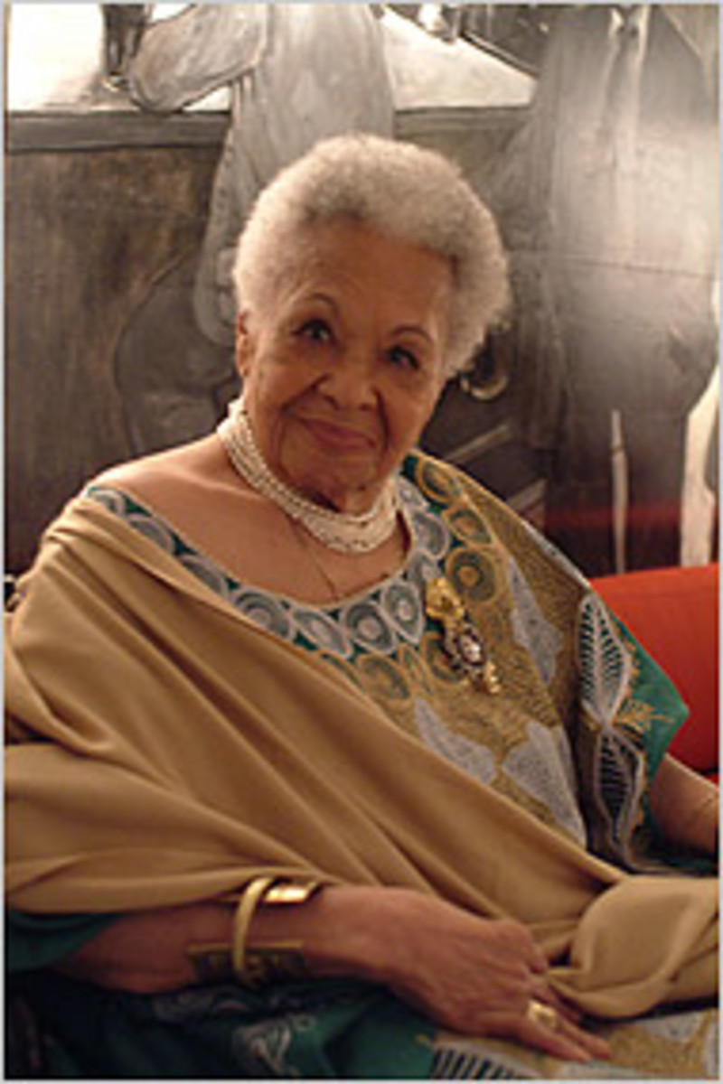 Katherine Dunham lived to be 96 and was just a few days short of her 97th birthday when she passed away.