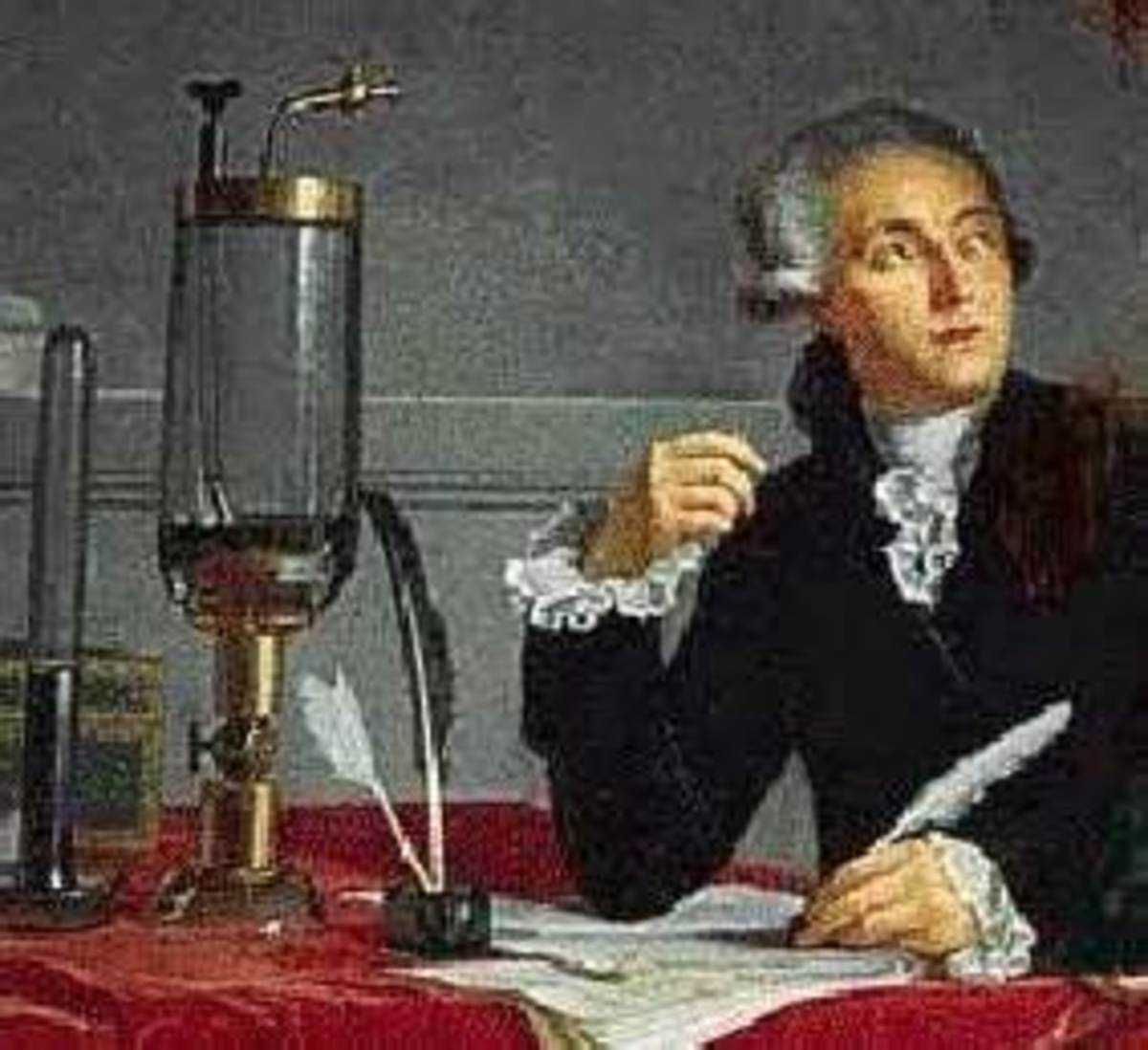 Antoine Lavoisier: (26 August 1743 – 8 May 1794); developed a new system of chemical nomenclature.