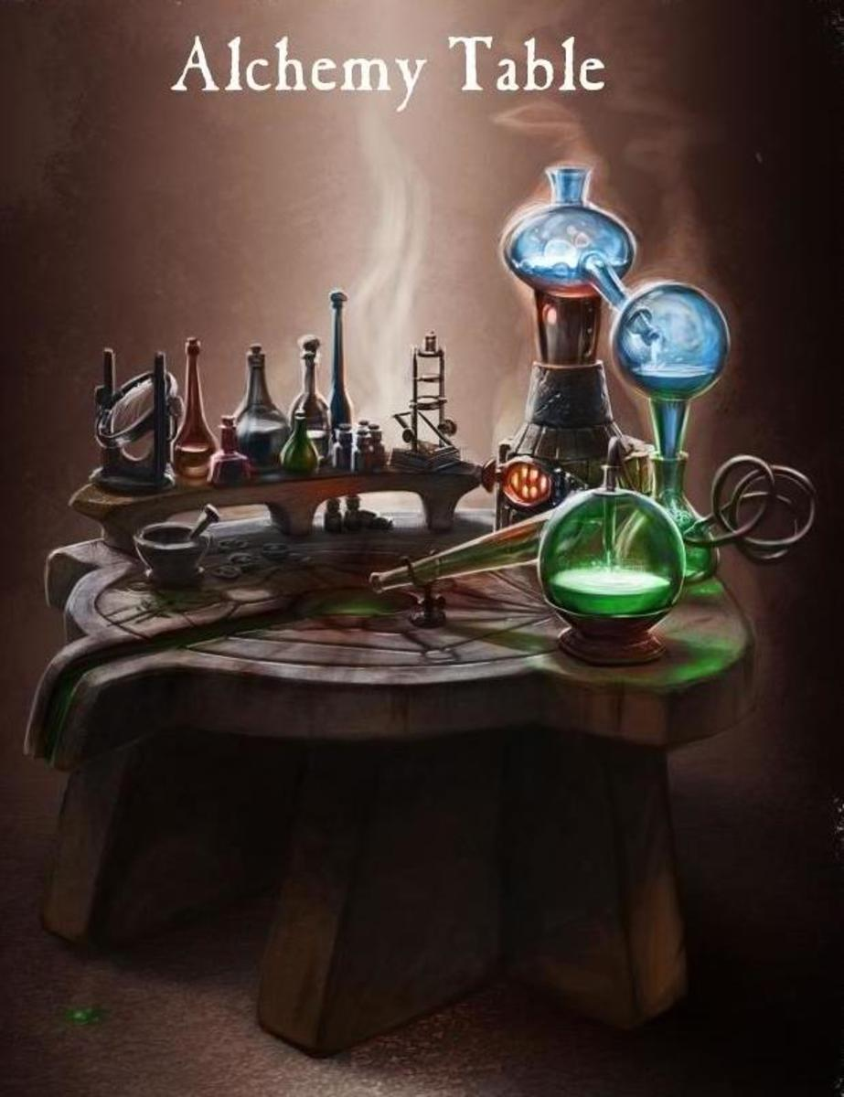 Alchemy has been recognized as a protoscience which contributed to modern chemistry and medicine. It involves Hermetic principles and practices which include magic, mythology,  religion and spirituality.   Alchemists are known for developing a struct