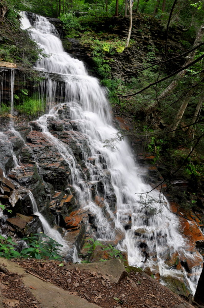 Ricketts Glen State Park:  22 Gorgeous Waterfalls in Northeast Pennsylvania