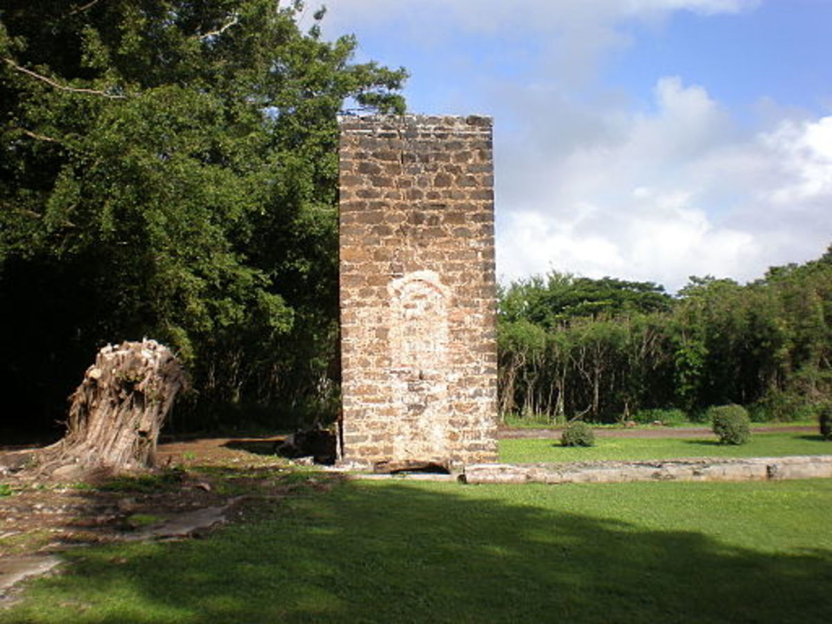 The original chimney constructed ca 1840