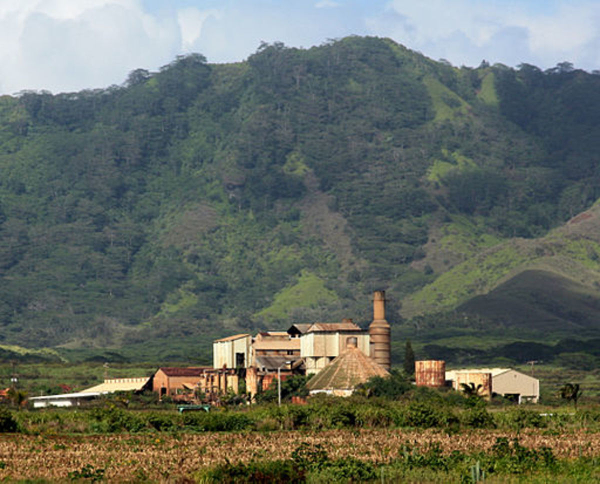 The Koloa Sugar Plantation, now a historical site